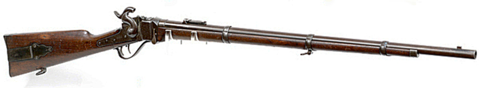 Berdan sharpshooter 1859 rifle