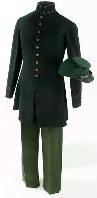 Berdan sharpshooter green uniform