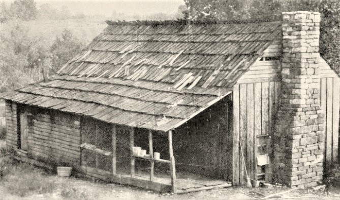 Alvin York wooden country home